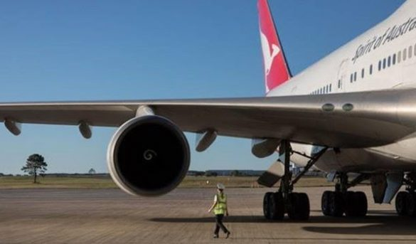 Aerolinea Qantas vende en 10 minutos todos los billetes para un «vuelo a ninguna parte» sobre Australia