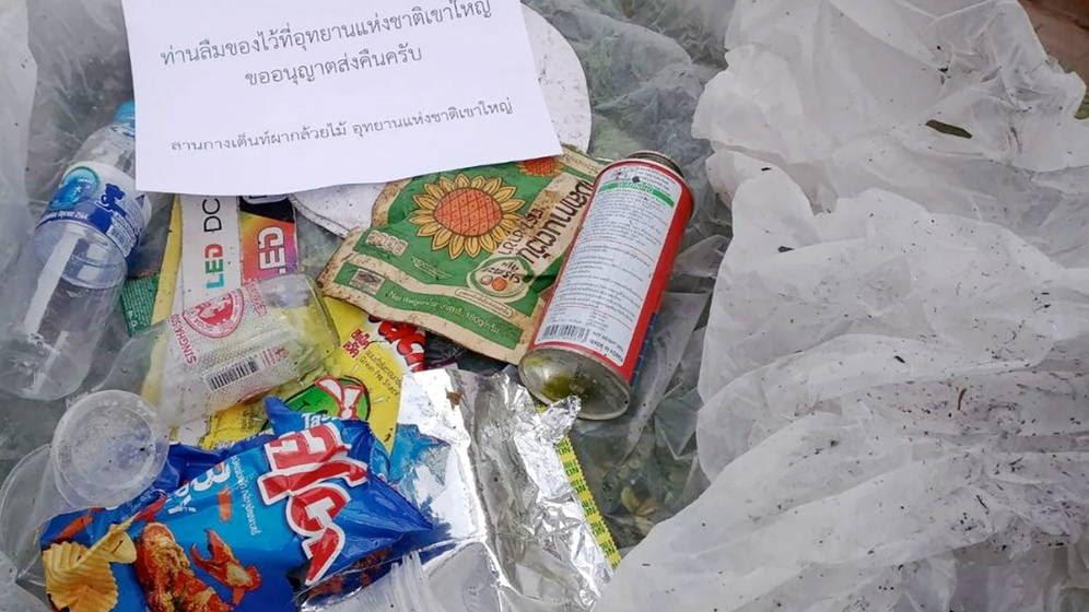 Tailandia enviará por correo la basura que los turistas dejen en sus parques naturales