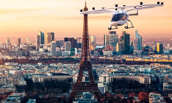 Cada vez más cerca del 'aero-taxi', la compañía alemana Volocopter realizará vuelos de pruebas en París el año que viene