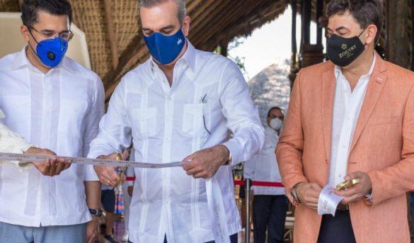 Abinader asiste a la reapertura del Zoetry Agua Punta Cana AMResorts