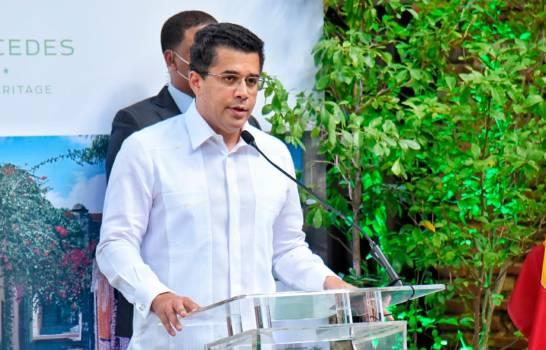 Ministro de Turismo afirma Sto. Dgo. tendrá centro de convenciones que aumentará el turismo
