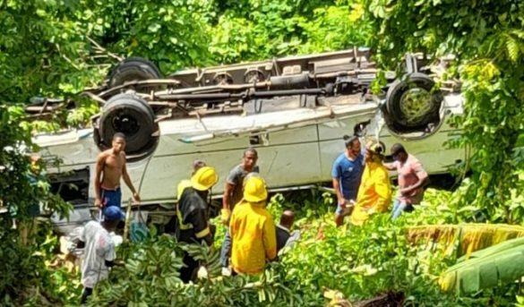 Al menos 17 turistas heridos en accidente de tránsito en Samaná