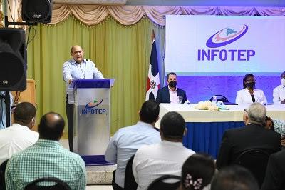 Inst. Nacional de Formación Técnico Profesional anuncia instalará escuela de hotelería y turismo en Pedernales