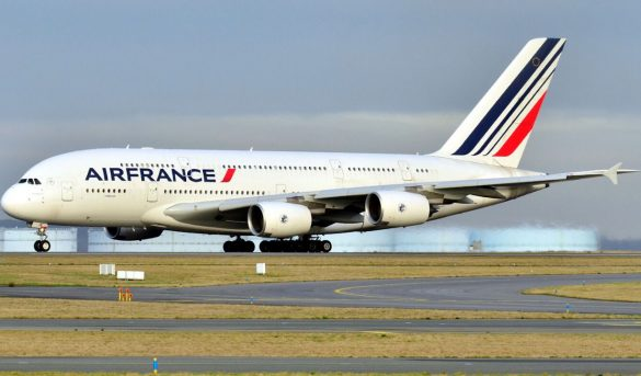 Air France confirma más de 5,800 asientos para diciembre a RD