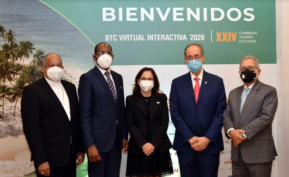 """Bolsa Turística del Caribe inaugura """"BTC Virtual Interactiva 2020"""""""