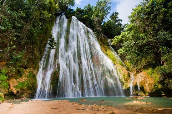 La cascada más visitada en RD
