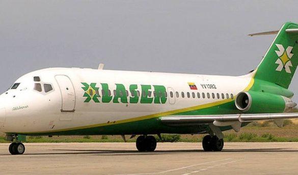 Laser Airlines retomará sus vuelos entre Caracas y SD el próximo viernes