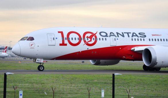 La aerolínea Qantas obligará a sus pasajeros a vacunarse contra el covid-19