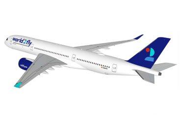 El primer avión de la aerolínea de Iberostar aterriza en Barcelona