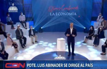 Abinader: La economía se está recuperando