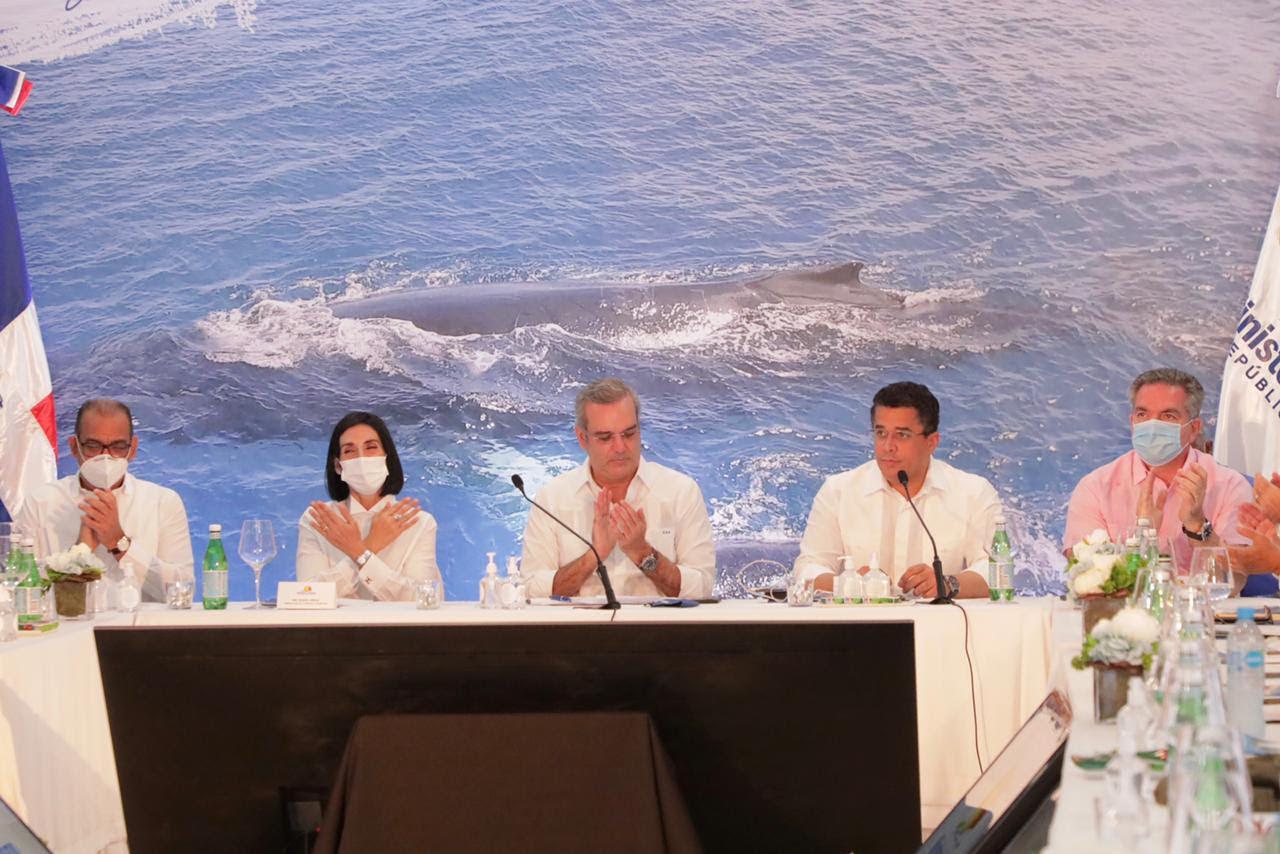 SAMANA: Presidente Luis Abinader anuncia el relanzamiento del turismo