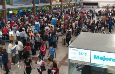 Se intensifica el flujo de pasajeros al país, por el AILA