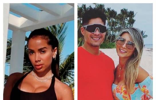 Anitta y Chyno Miranda, dos celebridades que disfrutan de Punta Cana