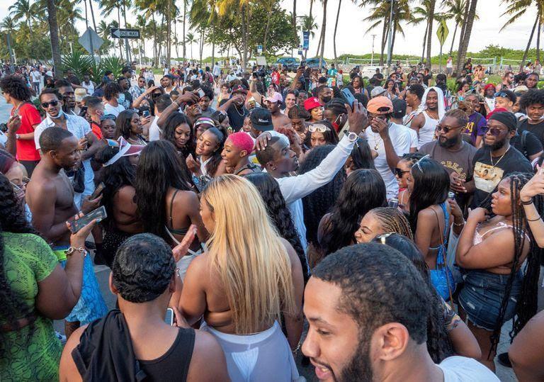 Las consecuencias del spring break: suben los contagios en Miami, Florida, Estados Unidos