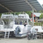 """Republica Dominicana cuenta con una fabrica de Barcos para Turismo, """"made in"""" Luperón, Puerto Plata"""