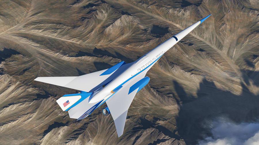 Un vistazo exclusivo dentro del jet presidencial supersónico de EE.UU.