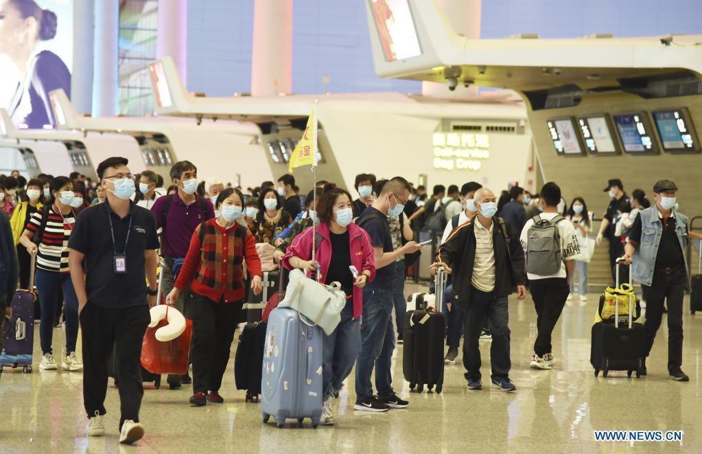 Aeropuerto Internacional Baiyun de China, el centro más transitado del mundo en 2020