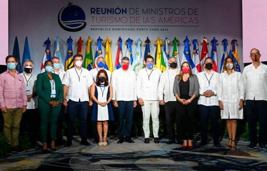 Ministros de Turismo de las Américas acuerdan unificar protocolos sanitarios