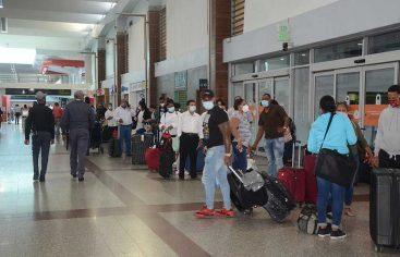 JAC dice movimiento pasajeros crece 69% por aeropuertos dominicanos