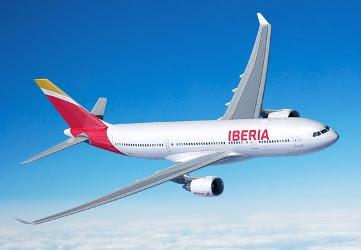 Iberia aumenta frecuencias de vuelos semanales a Santo Domingo