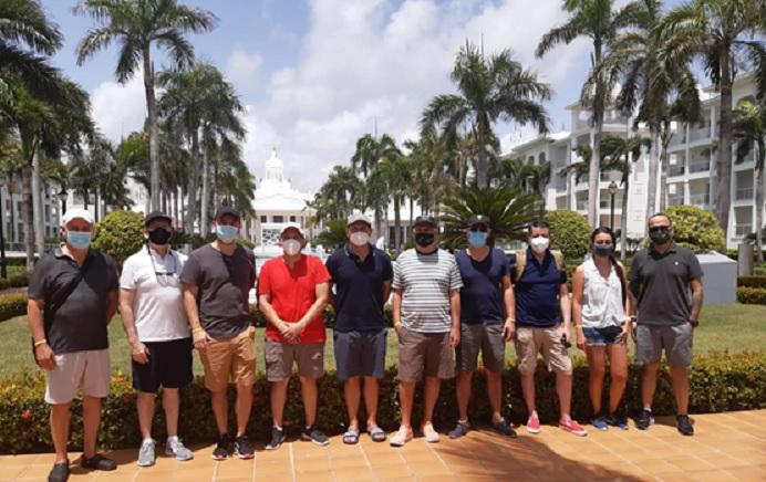 Turoperadores, Comunicadores y Agentes de viaje colombianos llegan a  Punta Cana