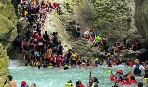 Río Partido está a punto de colapsar debido a la gran cantidad de turistas que llegan sin control