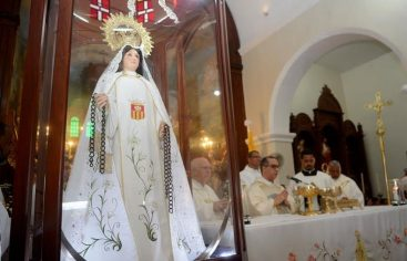 Honran hoy a Virgen de las Mercedes