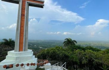 Hermosa vista del Valle, Vega Real, RD. desde el Santo Cerro, hoy 24-09-2021, Día de Las Mercedes