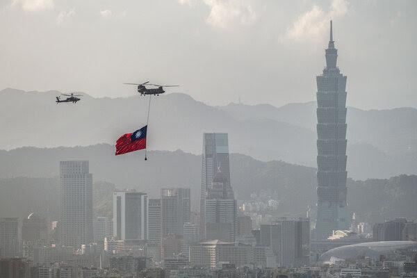 Taiwan celebra este domingo 10-10-2021 su Dia Nacional en medio de grandes presiones y amenazas de China