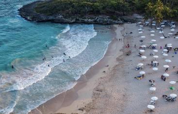 Esta es Playa Caribe, Juan Dolio, SPM, RD.